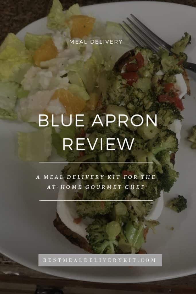 Blue Apron Delivery Kit Review