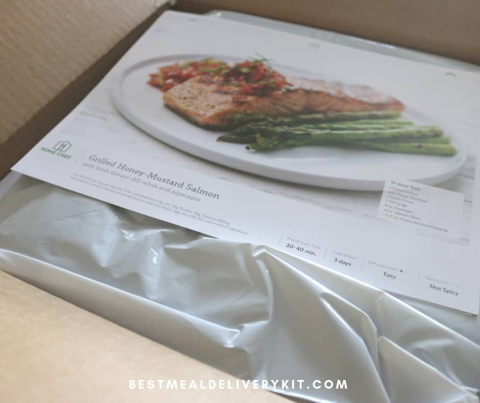 Home Chef Delivery Box