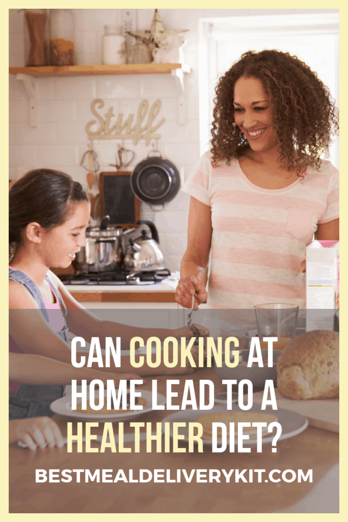 Will cooking at home make me healthier?